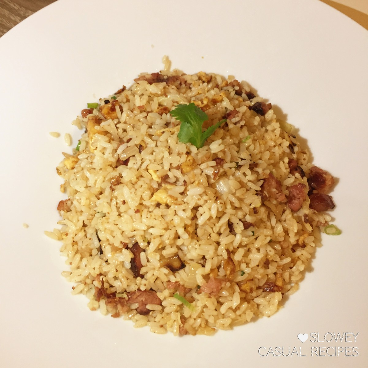 Taiwanese Sausage Fried Rice 台式香腸炒飯